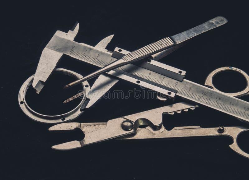 Instruments royalty free stock photo