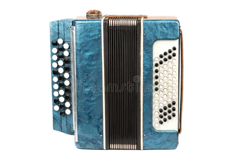 Instrumentu muzycznego bayan akordeon fotografia stock