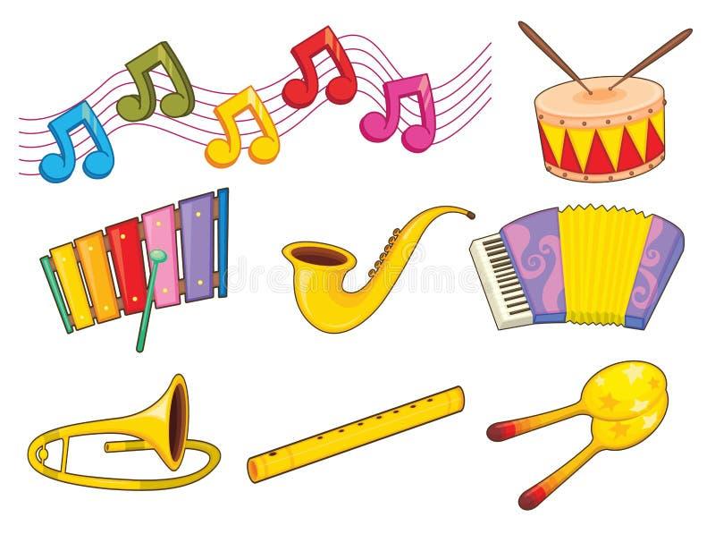 Instrumenty ilustracja wektor