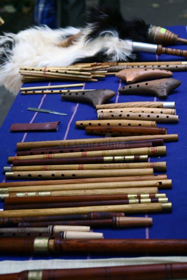instrumenty muzyczne obraz stock