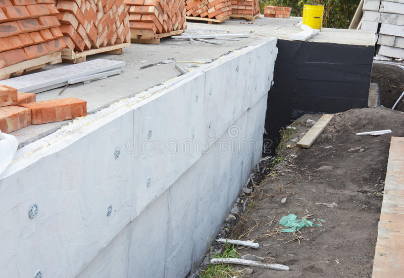 Insulating Exterior Foundation Walls Foundation Waterproofing And Damp Proofing Coatings