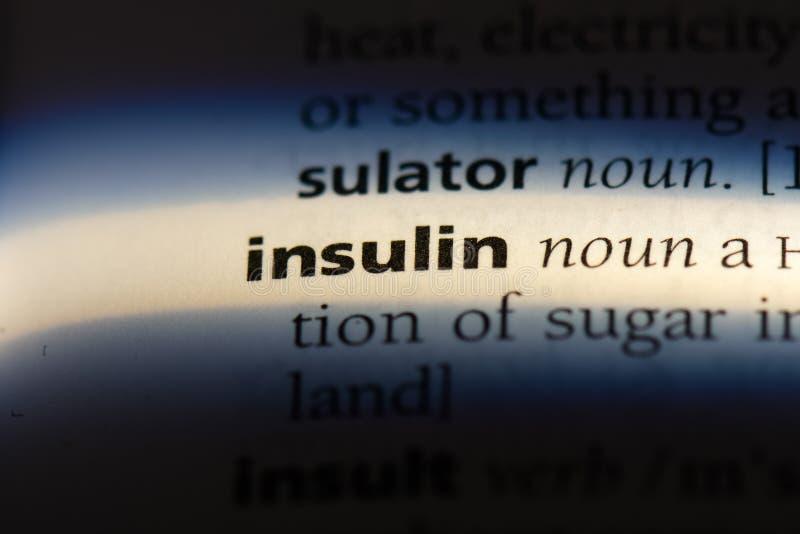 insulin arkivfoton
