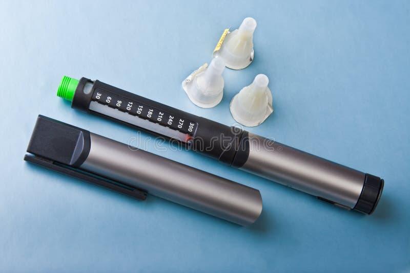Insulin Syringe Stock Images