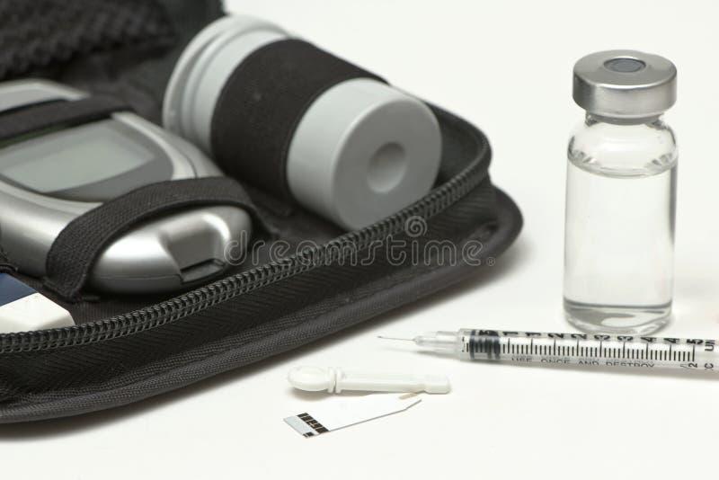 Insulinelevering royalty-vrije stock foto's