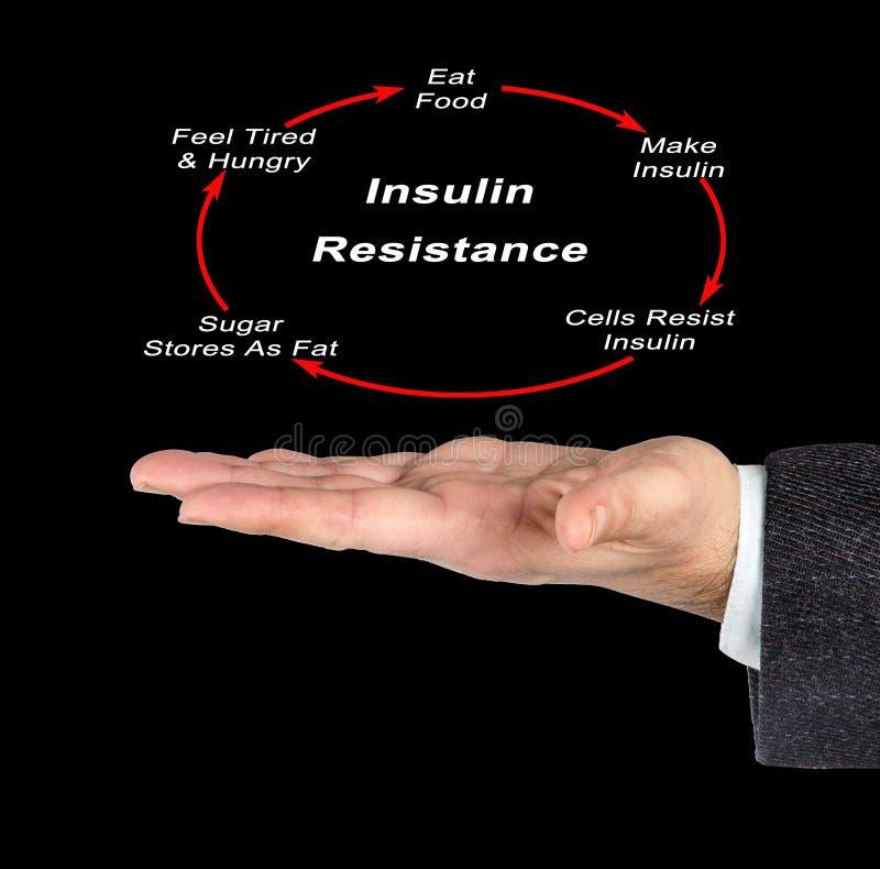 Insulinowy opór obrazy stock