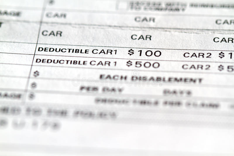 Download Insurance stock image. Image of deductible, finance, invoice - 21676067