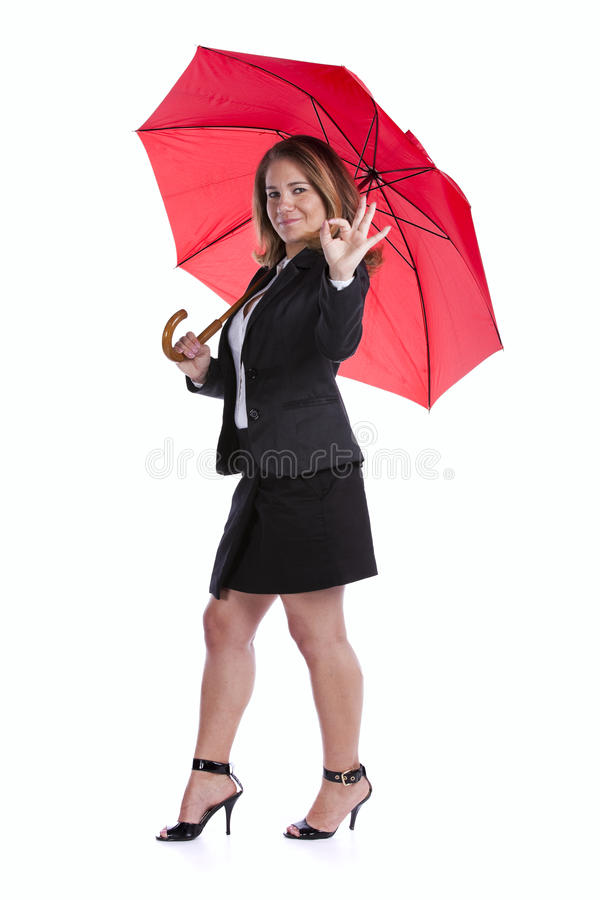 Download Insurance businesswoman stock photo. Image of attractive - 20054942