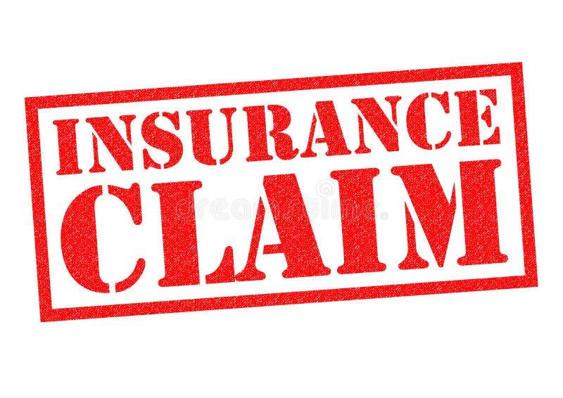Insurance Claim Rubber Stamp Stock Illustration ...