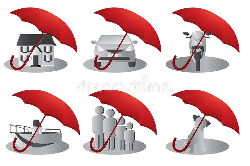 Download Insurance concept stock vector. Image of security, concept - 17841803
