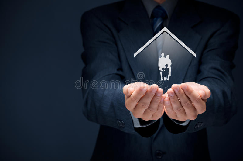 Insurance concept stock images