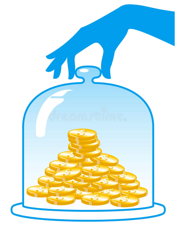Download Insurance Finance. stock vector. Image of hand, bank - 14387110