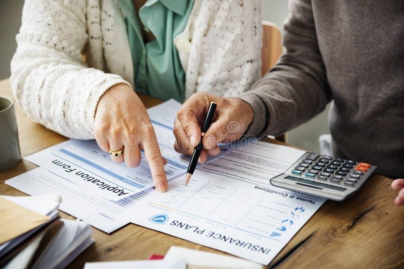 Insurance Health Risk Assessment Vitality Concept stock photos
