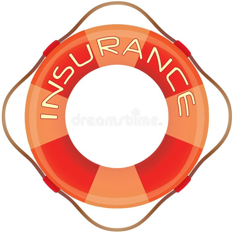 Download Insurance lifesaver stock illustration. Image of accident - 11533553