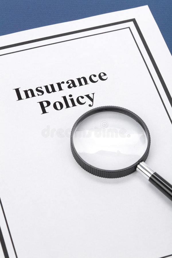 Download Insurance Policy stock image. Image of decision, research - 6525297