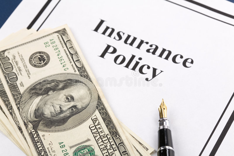 Insurance Policy royalty free stock photography