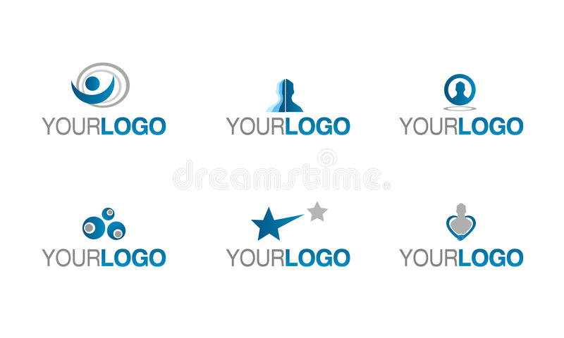 Insurance and prevention logo. Vector set of brands for insurance, assurance, policy and health care company