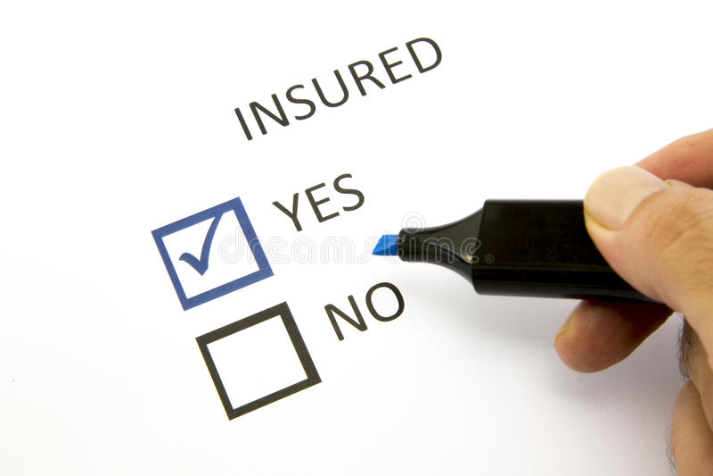 Insurance Or Risk Stock Photos