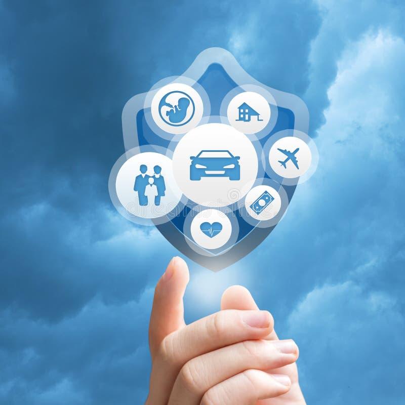 Insurance Services design stock photos