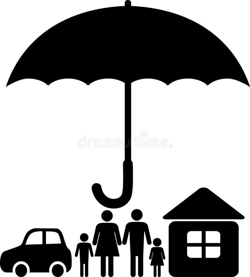 Insurance sign vector illustration
