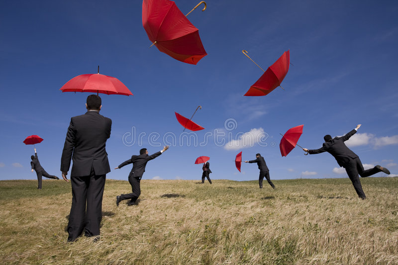 Insurance solution stock photography