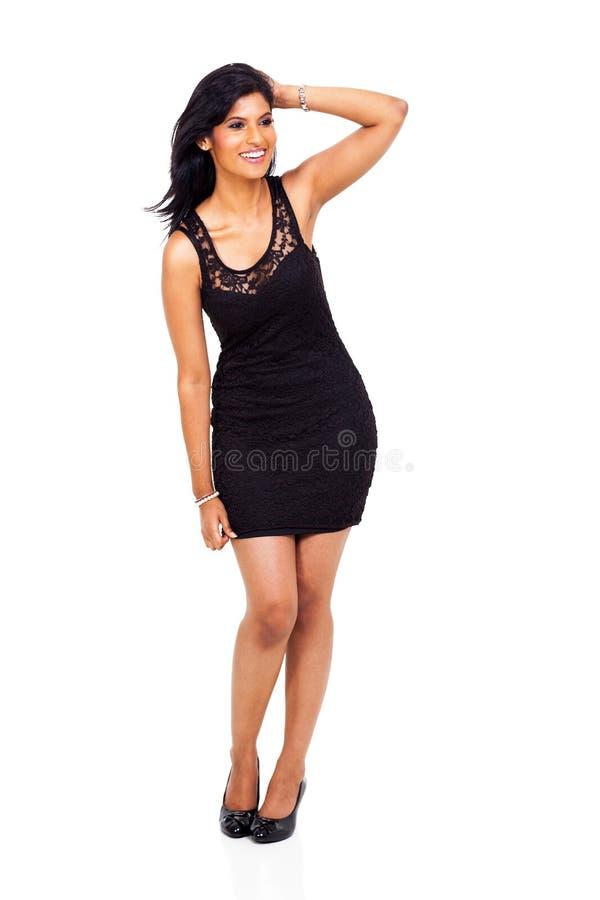 Femme d'affaires indienne heureuse images stock