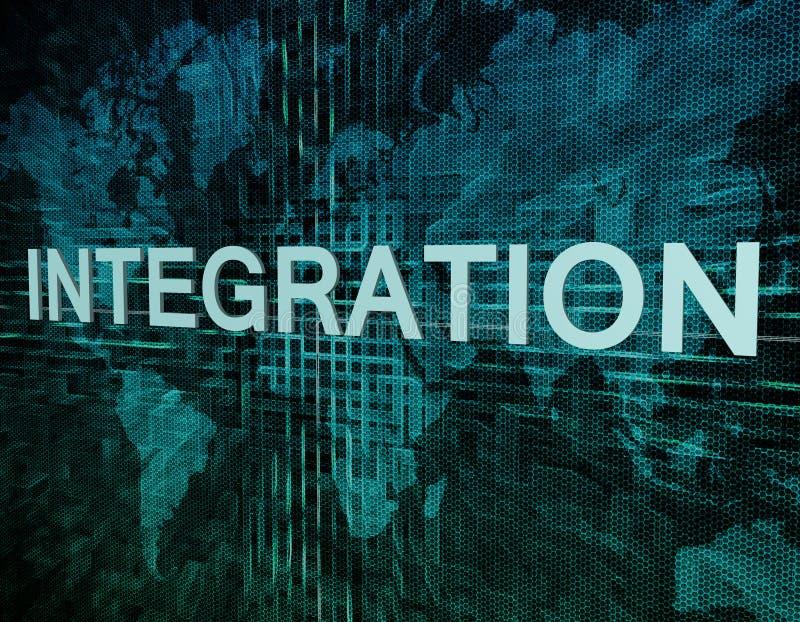intégration illustration libre de droits