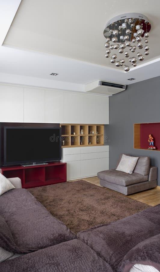 Intérieur à la maison illustration de vecteur