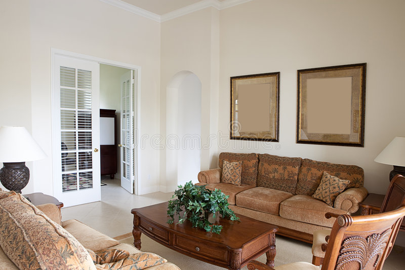 Intérieur à la maison moderne image stock