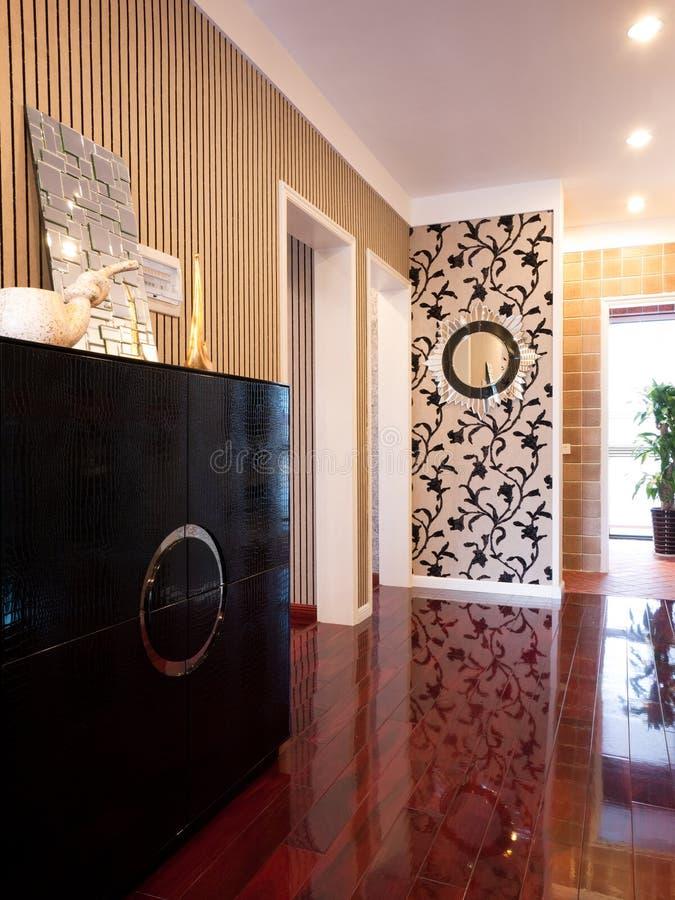 Intérieur à la maison moderne de luxe images stock