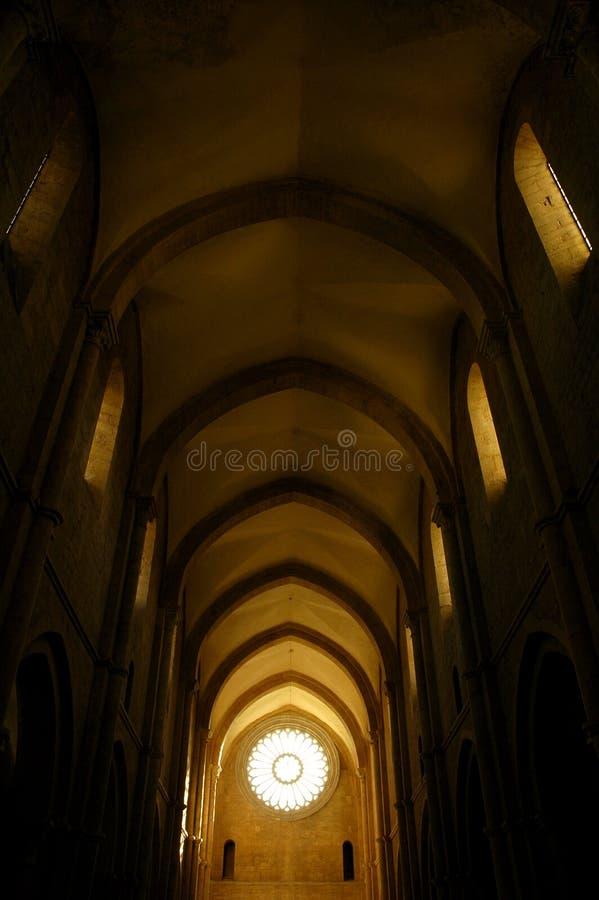 intérieur 01 gothique images libres de droits