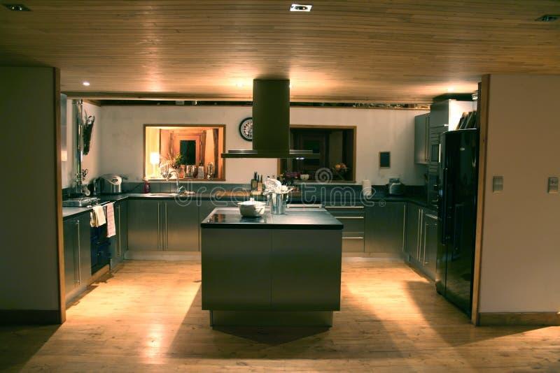 Download Intérieur image stock. Image du home, nuit, neuf, cottage - 2143877