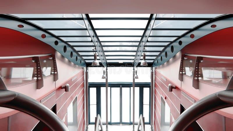 Intérieur commercial de construction images stock