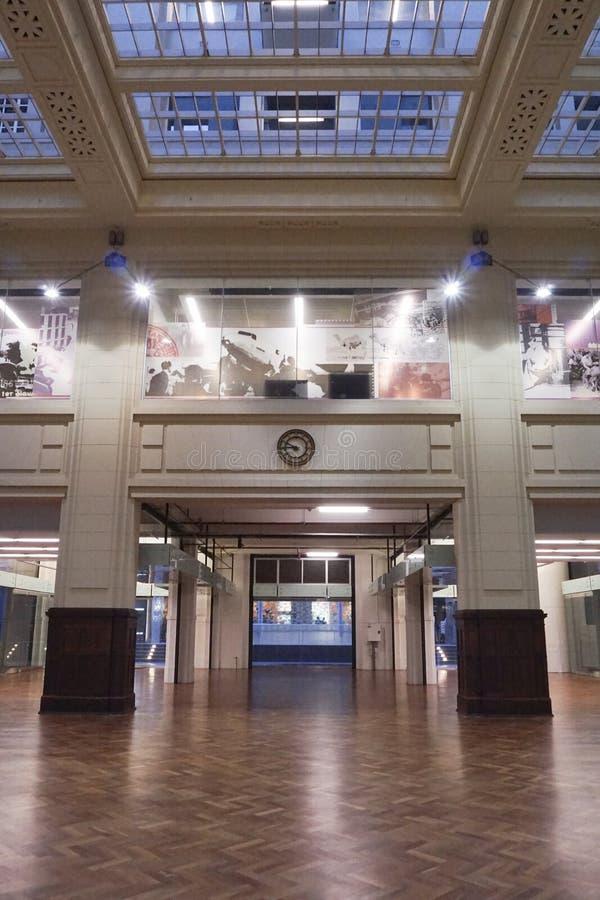 Intérieur commercial historique australien photos libres de droits