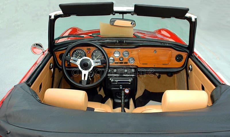 Intérieur convertible de véhicule photo libre de droits