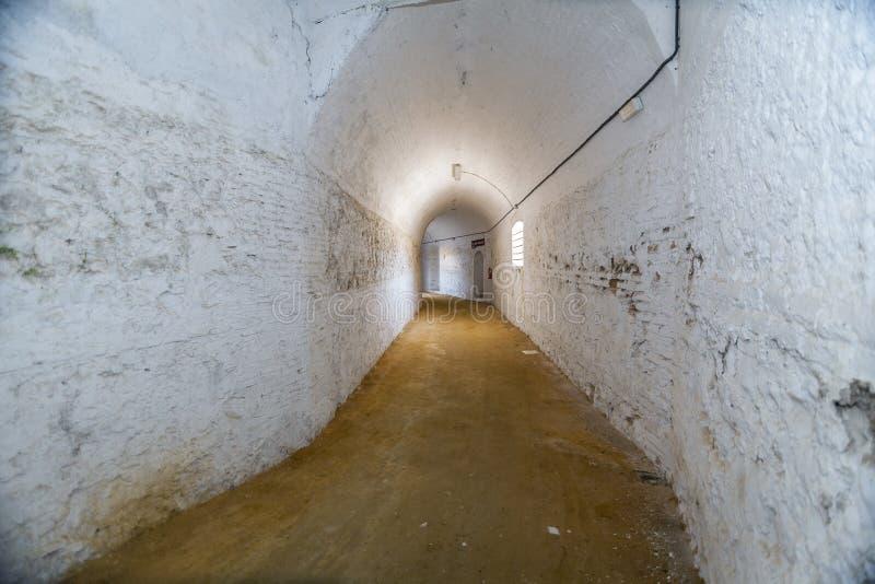 Intérieur d'arène de Cabra, province de Cordoue, Espagne, septembre image libre de droits