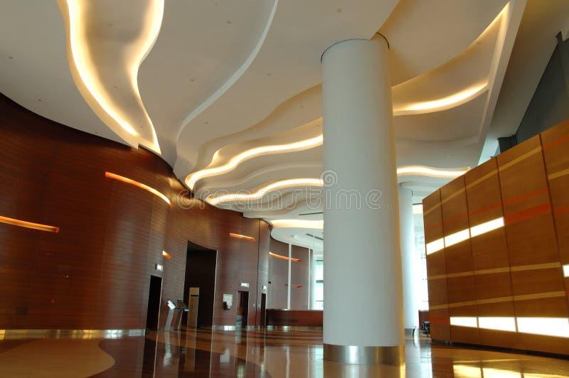 Intérieur d'architecture de construction d'affaires photo stock