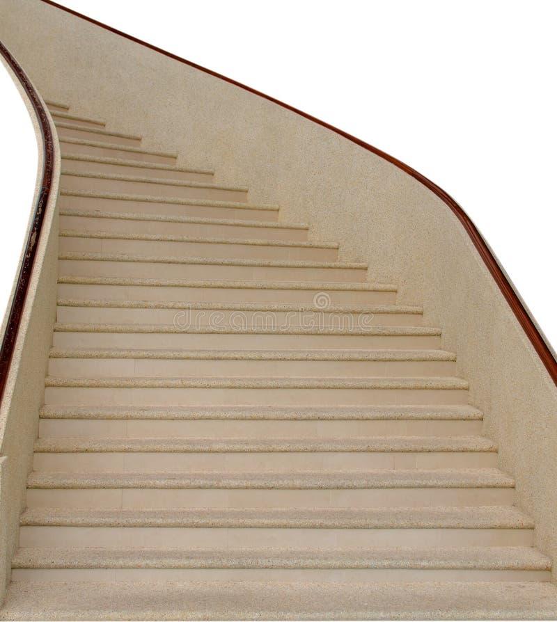 Intérieur d'escalier à la maison images stock