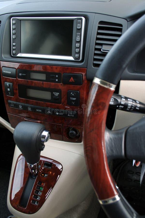 Intérieur d'un véhicule photo libre de droits