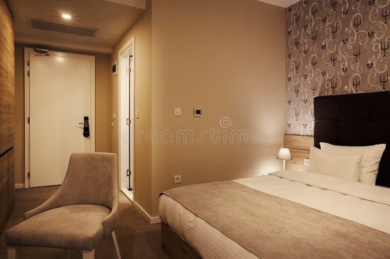 Intérieur d'une chambre d'hôtel photos libres de droits
