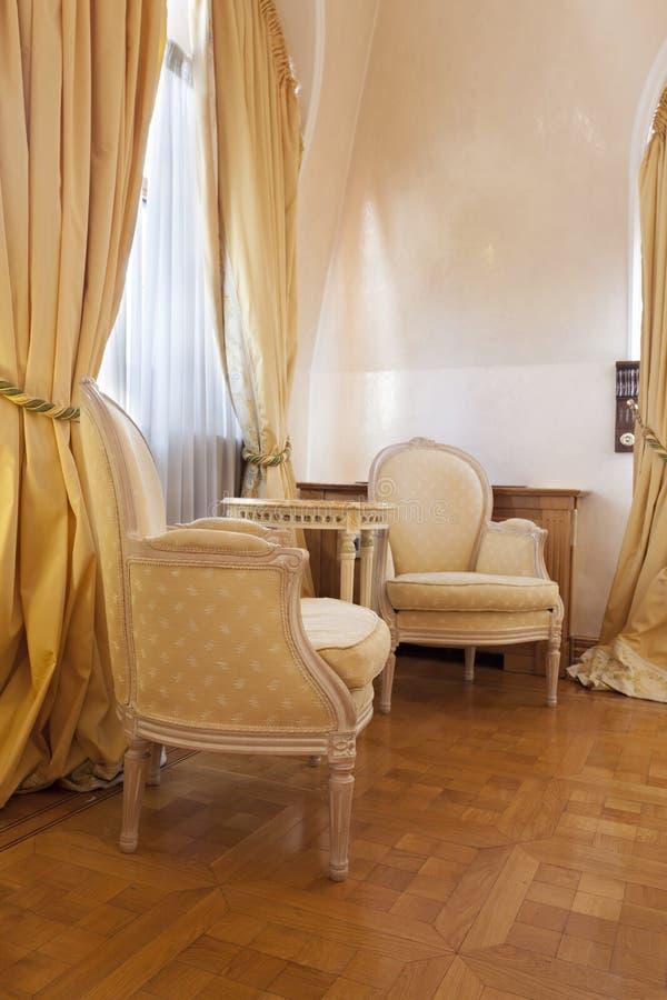 Download Intérieur D'une Salle Classique De Style Image stock - Image du rétro, classique: 45368887