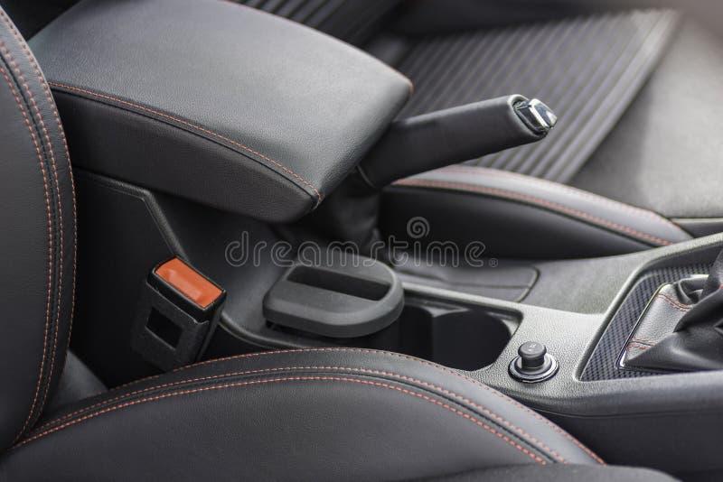 Intérieur d'une voiture image stock