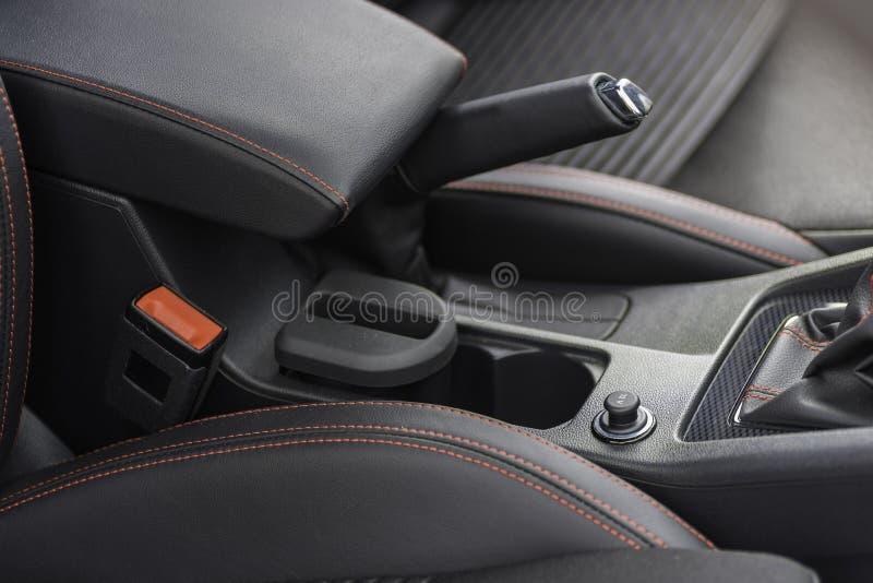 Intérieur d'une voiture image libre de droits