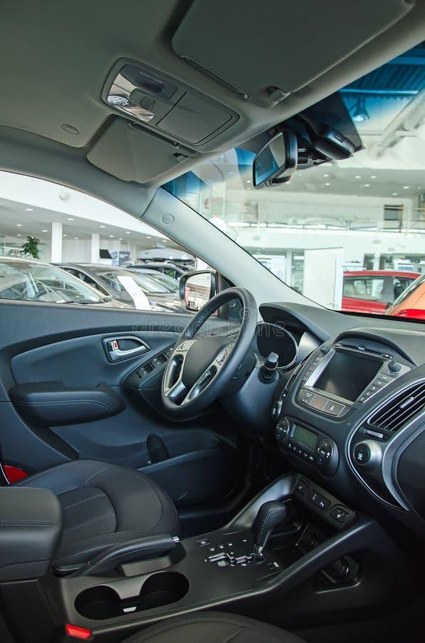 Intérieur d'une voiture. photographie stock libre de droits