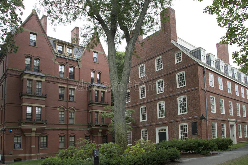 Intérieur d'Université d'Harvard photos stock