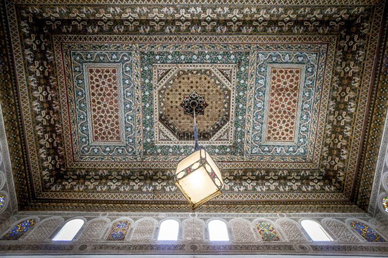 Intérieur de Bahia Palace photos stock