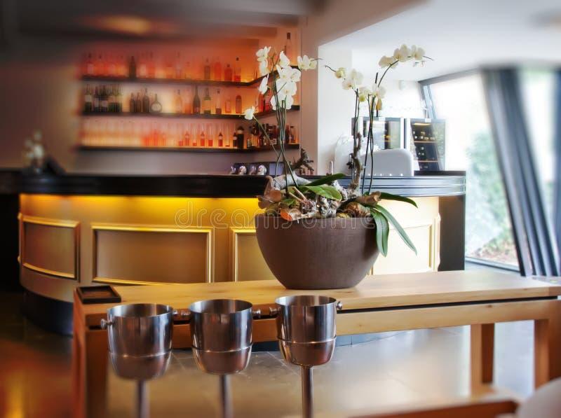Intérieur de bar photos stock