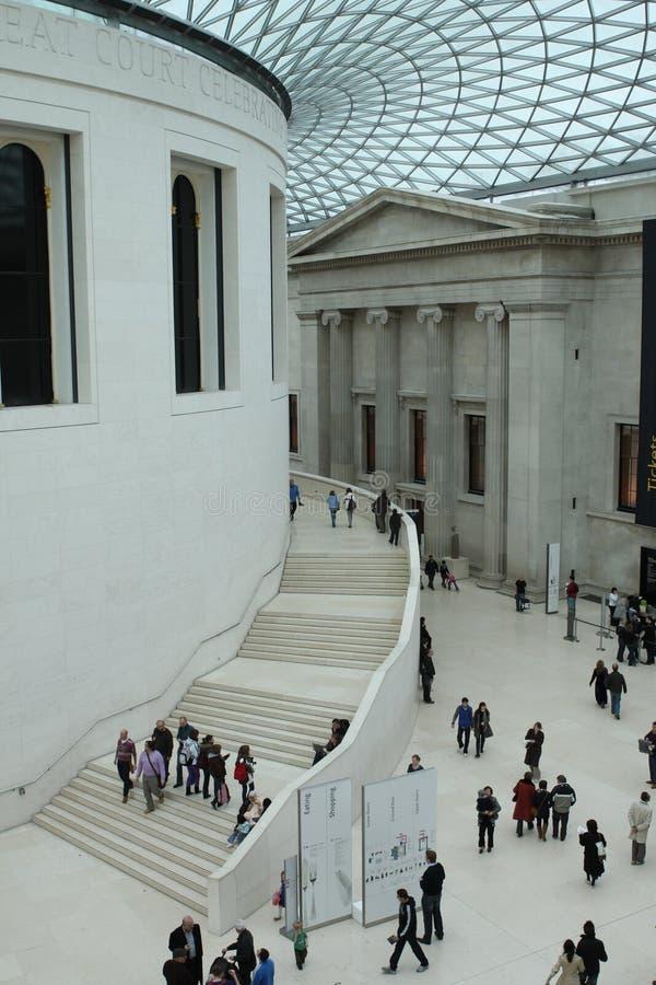 Intérieur de British Museum photos libres de droits