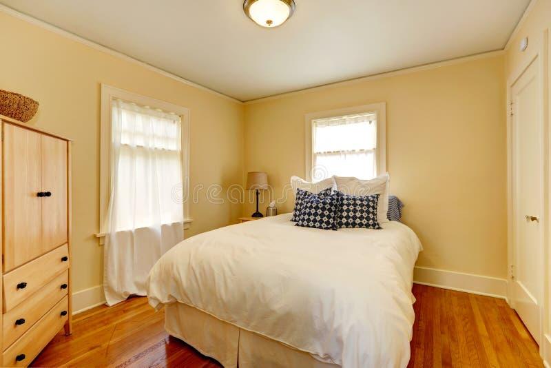 Intérieur de chambre à coucher. photographie stock