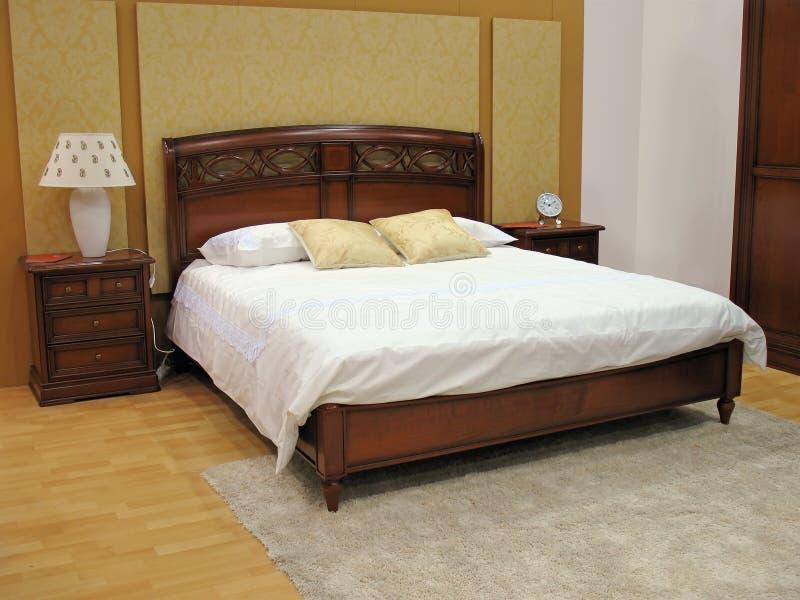 Intérieur de chambre à coucher photos stock