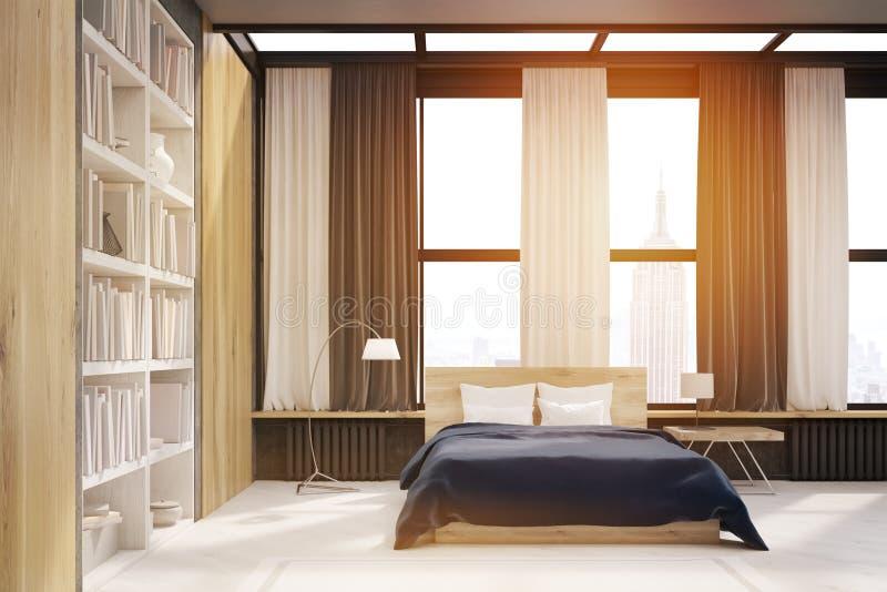Int rieur de chambre coucher de new york avec la - Chambre a coucher new york ...